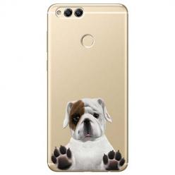 Etui na Huawei Honor 7X - Słodki szczeniaczek.