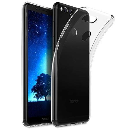 Etui na Huawei Honor 7X - Tęczowe piórka.