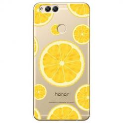 Etui na Huawei Honor 7X - Cytrynowe orzeźwienie.