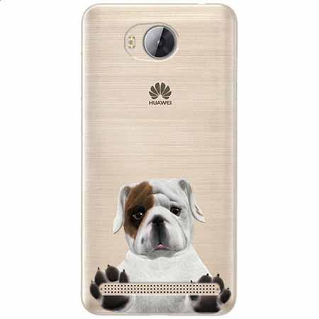 Etui na Huawei Y3 II - Słodki szczeniaczek.