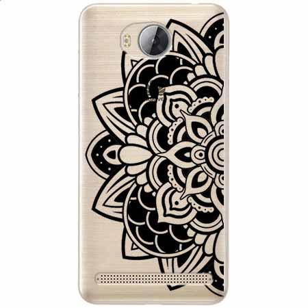 Etui na Huawei Y3 II - Kwiatowa mandala.