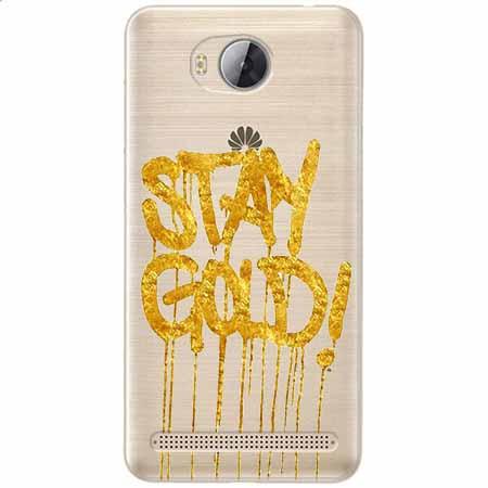 Etui na Huawei Y3 II - Stay Gold.