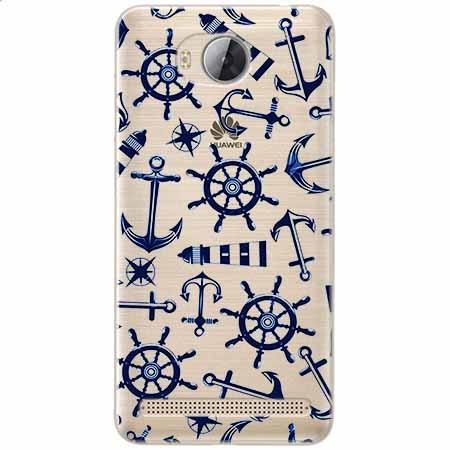 Etui na Huawei Y3 II - Ahoj wilki morskie.