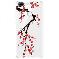 Etui na Huawei Honor 9 Lite - Krzew kwitnącej wiśni.