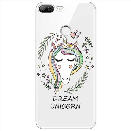 Etui na Huawei Honor 9 Lite - Dream unicorn - Jednorożec.