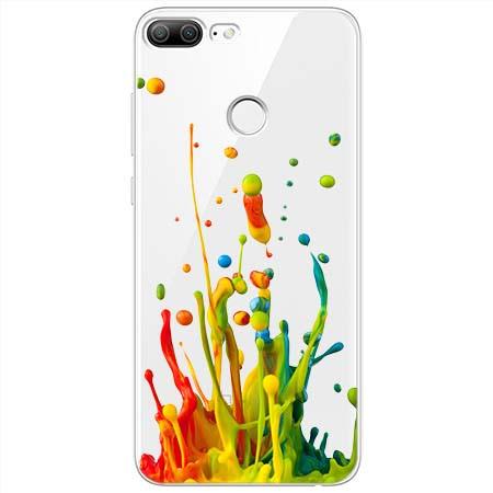 Etui na Huawei Honor 9 Lite - Kolorowy splash.