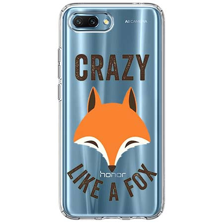 Etui na Huawei Honor 10 - Crazy like a fox.