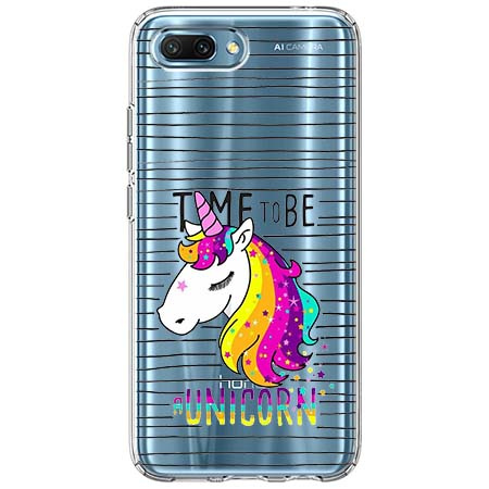 Etui na Huawei Honor 10 - Time to be unicorn - Jednorożec.