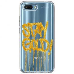 Etui na Huawei Honor 10 - Stay Gold.
