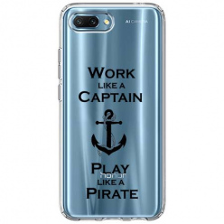 Etui na Huawei Honor 10 - Work like a Captain…