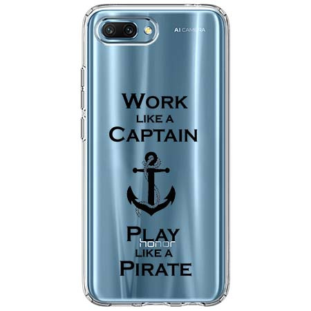 Etui na Huawei Honor 10 - Work like a Captain…