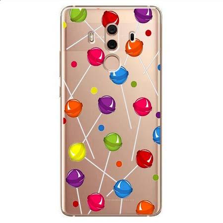 Etui na Huawei Mate 10 Pro - Kolorowe lizaki.