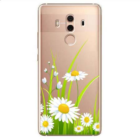Etui na Huawei Mate 10 Pro - Polne stokrotki.