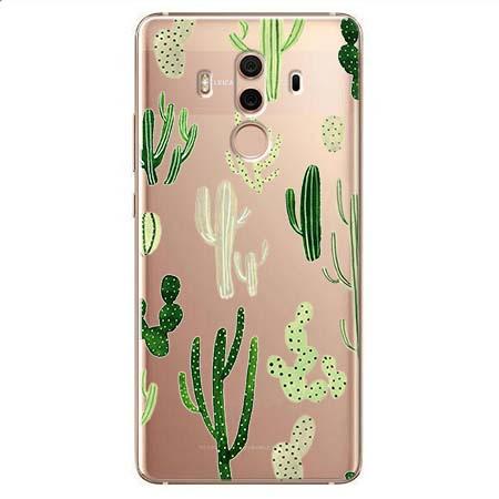 Etui na Huawei Mate 10 Pro - Kaktusowy ogród.