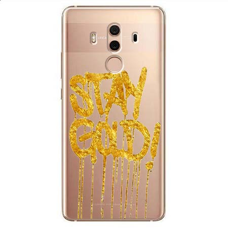 Etui na Huawei Mate 10 Pro - Stay Gold.
