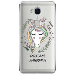 Etui na Huawei Honor 5X - Dream unicorn - Jednorożec.