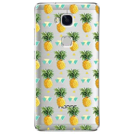 Etui na Huawei Honor 5X - Ananasowe szaleństwo.