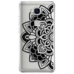 Etui na Huawei Honor 5X - Kwiatowa mandala.