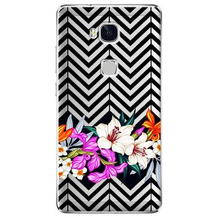 Etui na Huawei Honor 5X - Kwiatowy bukiet dla Ciebie.