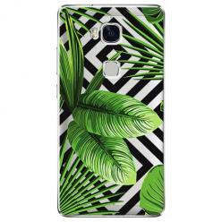 Etui na Huawei Honor 5X - Egzotyczne liście bananowca.