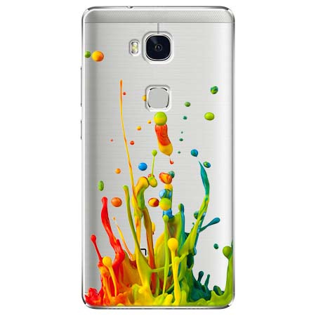 Etui na Huawei Honor 5X - Kolorowy splash.