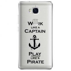 Etui na Huawei Honor 5X - Work like a Captain…