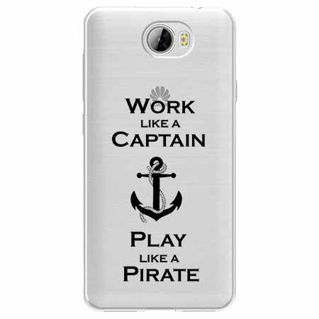 Etui na Huawei Y5 II - Work like a Captain…