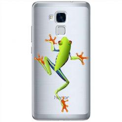 Etui na Huawei Honor 5C - Zielona żabka.