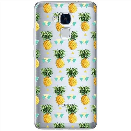 Etui na Huawei Honor 5C - Ananasowe szaleństwo.