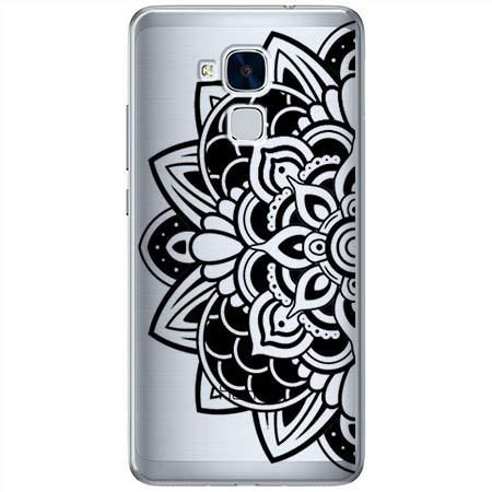 Etui na Huawei Honor 5C - Kwiatowa mandala.