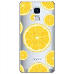 Etui na Huawei Honor 5C - Cytrynowe orzeźwienie.