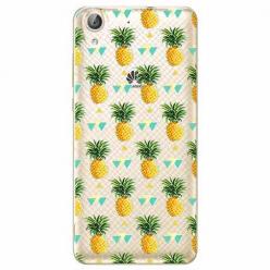 Etui na Huawei Y6 II - Ananasowe szaleństwo.