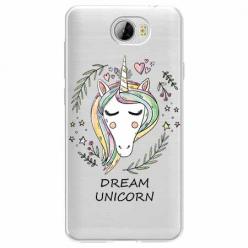 Etui na Huawei Y6 II Compact - Dream unicorn - Jednorożec.