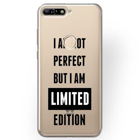 Etui na Huawei Y7 Prime 2018 - I Am not perfect…