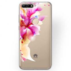 Etui na Huawei Y7 Prime 2018 - Bajeczny kwiat.