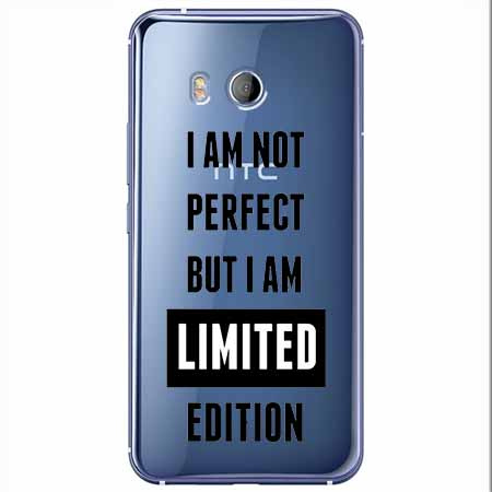 Etui na HTC U11 - I Am not perfect…
