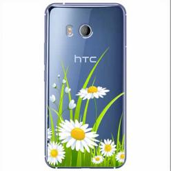 Etui na HTC U11 - Polne stokrotki.