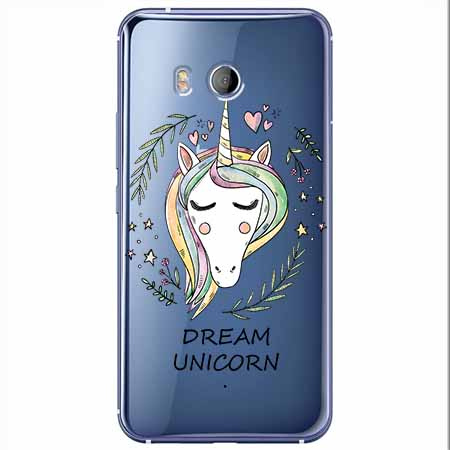 Etui na HTC U11 - Dream unicorn - Jednorożec.