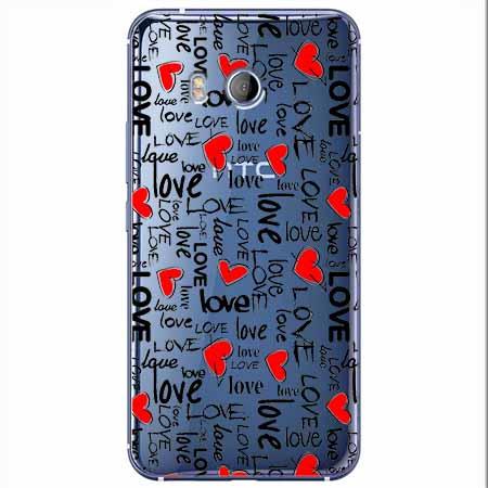Etui na HTC U11 - Love, love, love…
