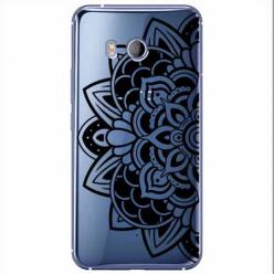 Etui na HTC U11 - Kwiatowa mandala.