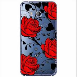 Etui na HTC U11 - Czerwone róże.
