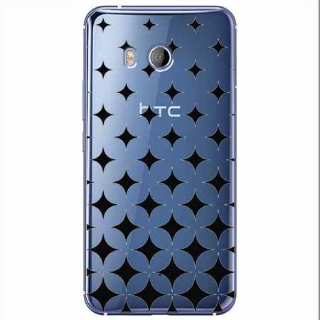 Etui na HTC U11 - Diamentowy gradient.