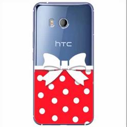 Etui na HTC U11 - Gustowna kokardka.