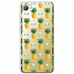 Etui na HTC Desire 12 - Ananasowe szaleństwo.