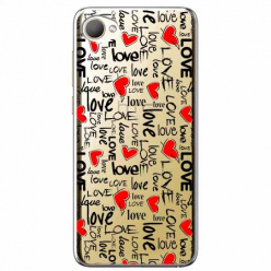 Etui na HTC Desire 12 - Love, love, love…