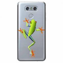 Etui na LG G6 - Zielona żabka.