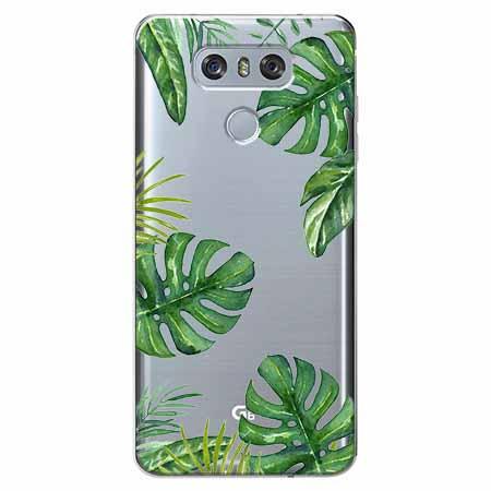 Etui na LG G6 - Egzotyczna roślina Monstera