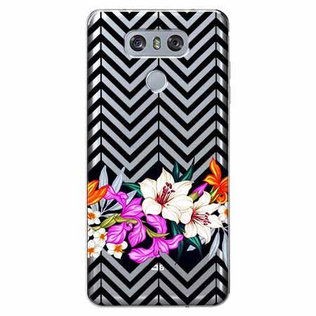 Etui na LG G6 - Kwiatowy bukiet dla Ciebie.