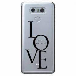 Etui na LG G6 - All you need is LOVE.