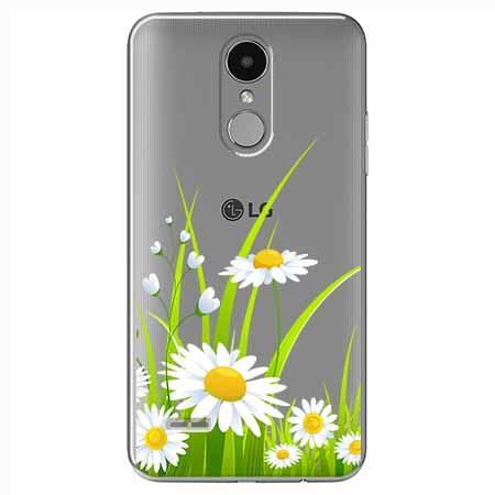 Etui na LG K8 2017 - Polne stokrotki.